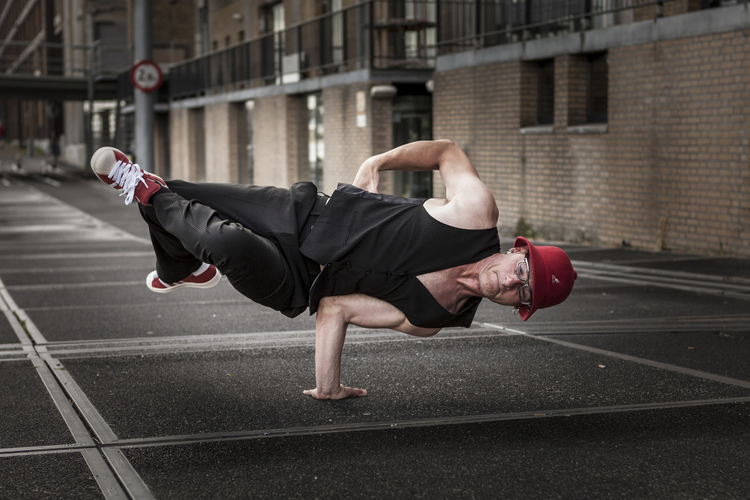 Ferry Knijn - skateboard actie