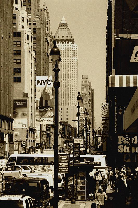 New York door Manfred Baumann