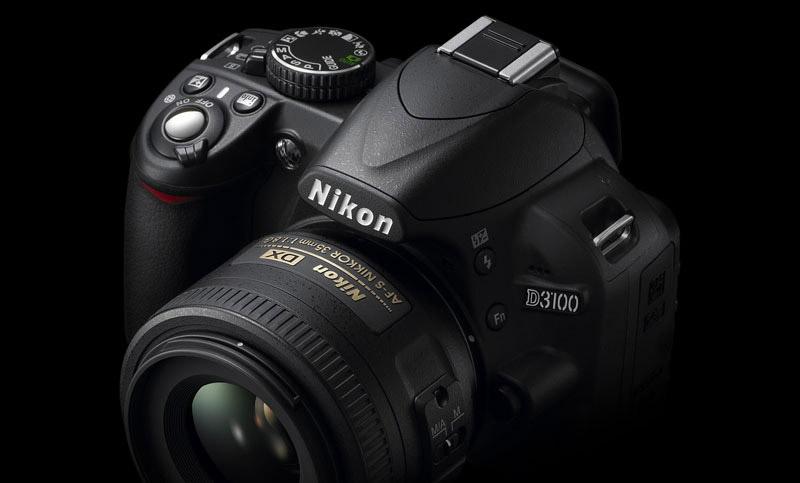 foto van Nikon D3100