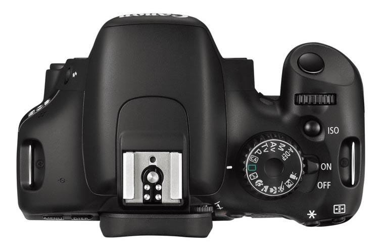 Canon EOS 550D bovenaf