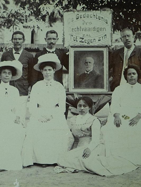 Historische fotocollectie van Suriname op Flickr