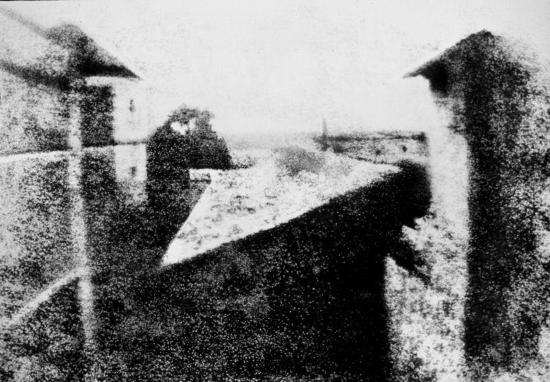 foto: Joseph Nicéphore Nièpce - de eerste foto ooit