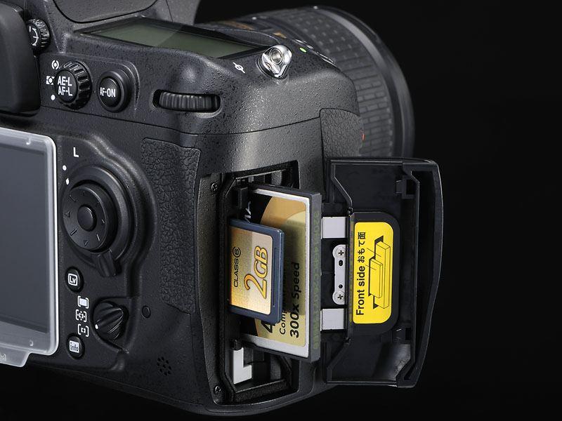 SD-kaartsleuf Nikon D300s