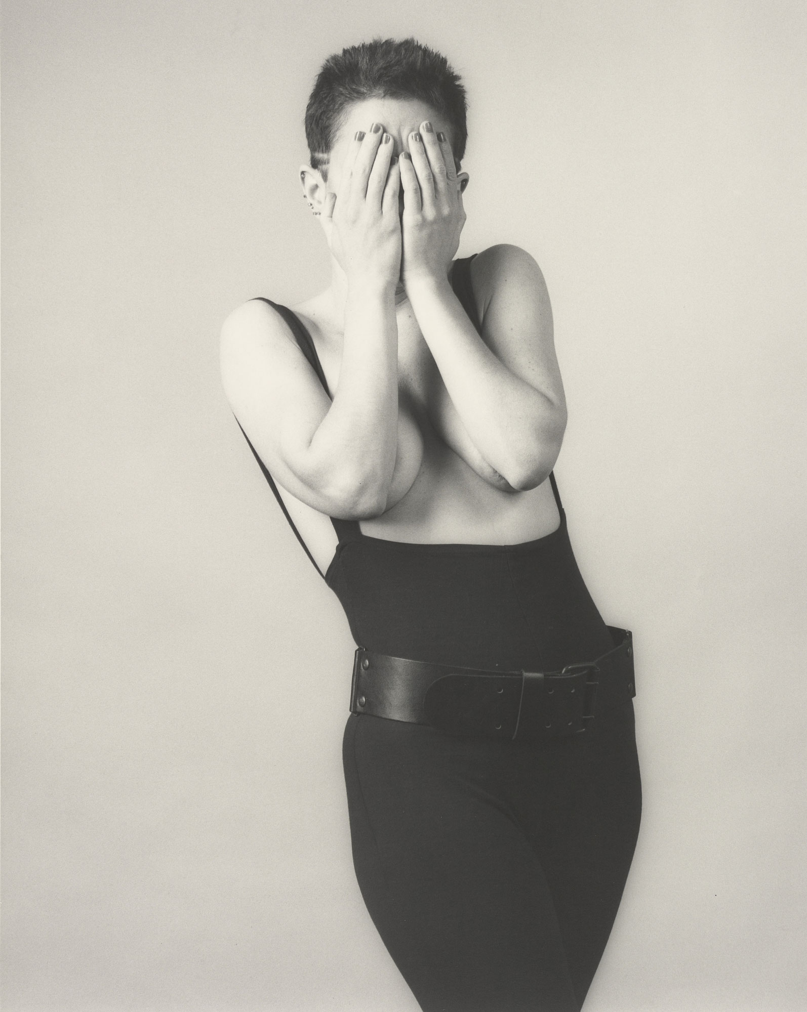 foto: Robert Mapplethorpe - Kathy Acker (1983)