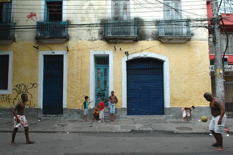 foto: Tom van der Leij - Rio de Janeiro, straat