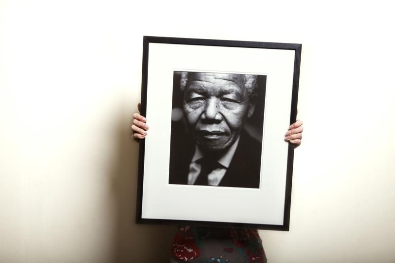 portretfoto Mandela