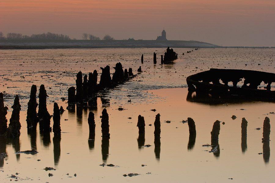 foto: Hillebrand Breuker | Wierum ná zonsondergang