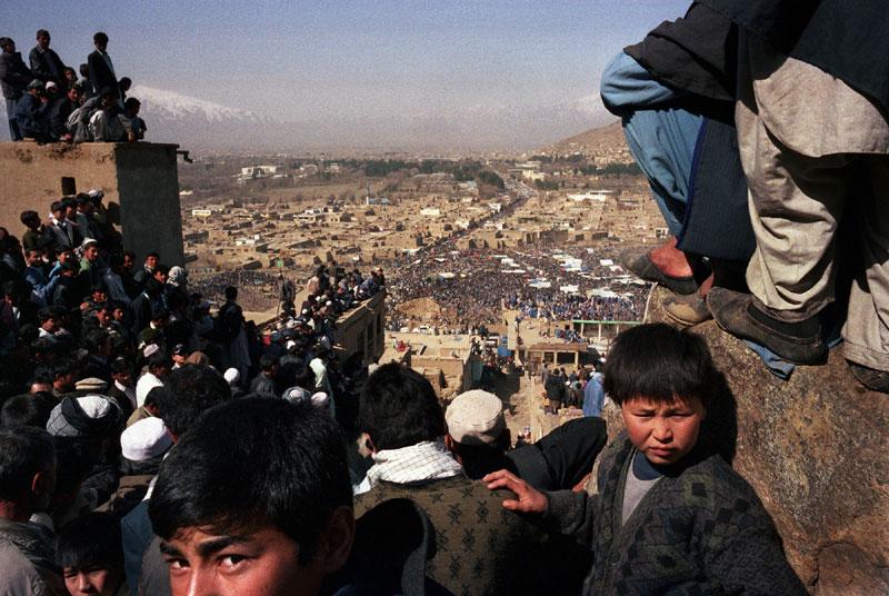 foto: Robert Knoth | Viering van Nauroz, het nieuwjaar in Afghanistan, Kabul 2003 voor NRC magazine.
