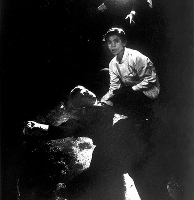 de stervende Kennedy 1986