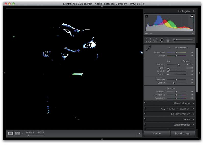 voorbeeldfoto in Adobe Photoshop van boek Scott Kelby