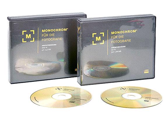 Monochrom's eigen archief-cd's en dvd's