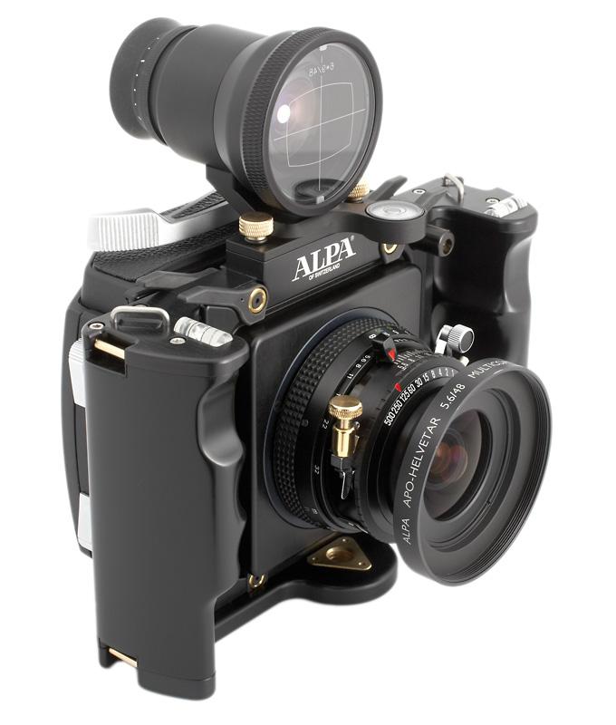 alpa camera met pinhole