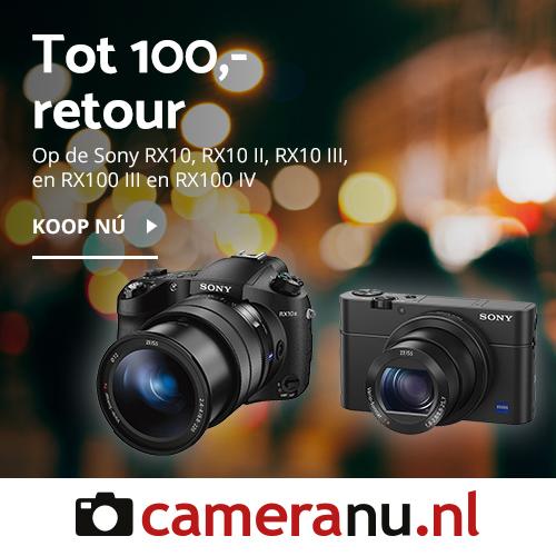 100 euro retour op sony bij cameranu