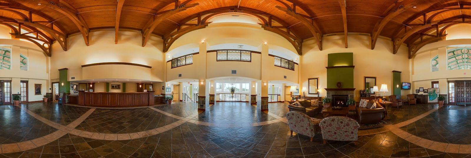 360 graden foto interieur gebouw
