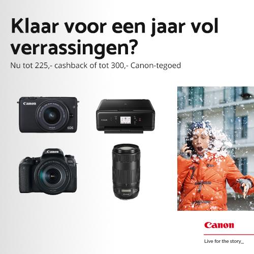 Canon Winterpromotie bij CameraNU.nl