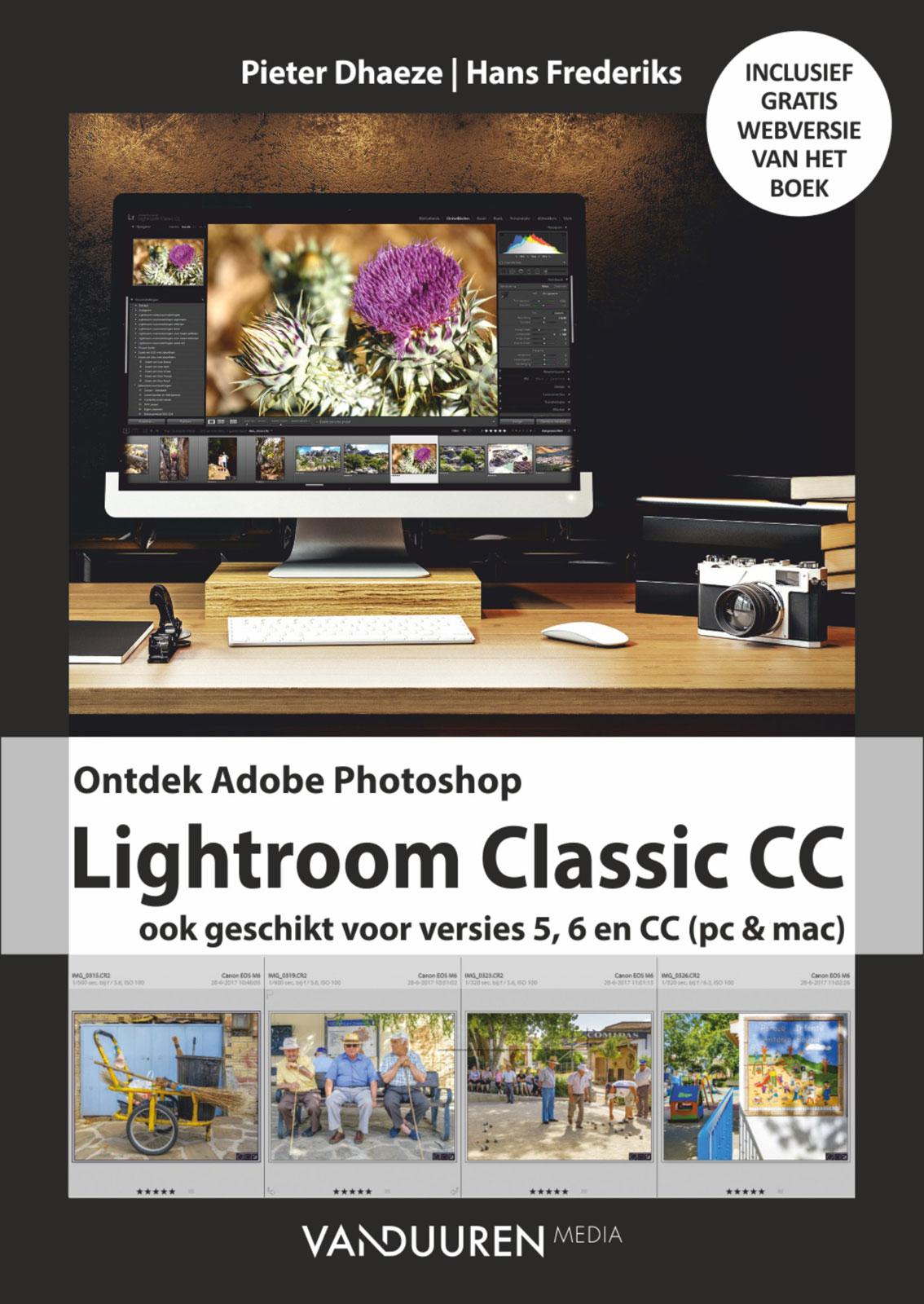 Ontdek Lightroom Classic CC- Pieter Dhaeze | Hans Frederiks, isbn 9789059409842