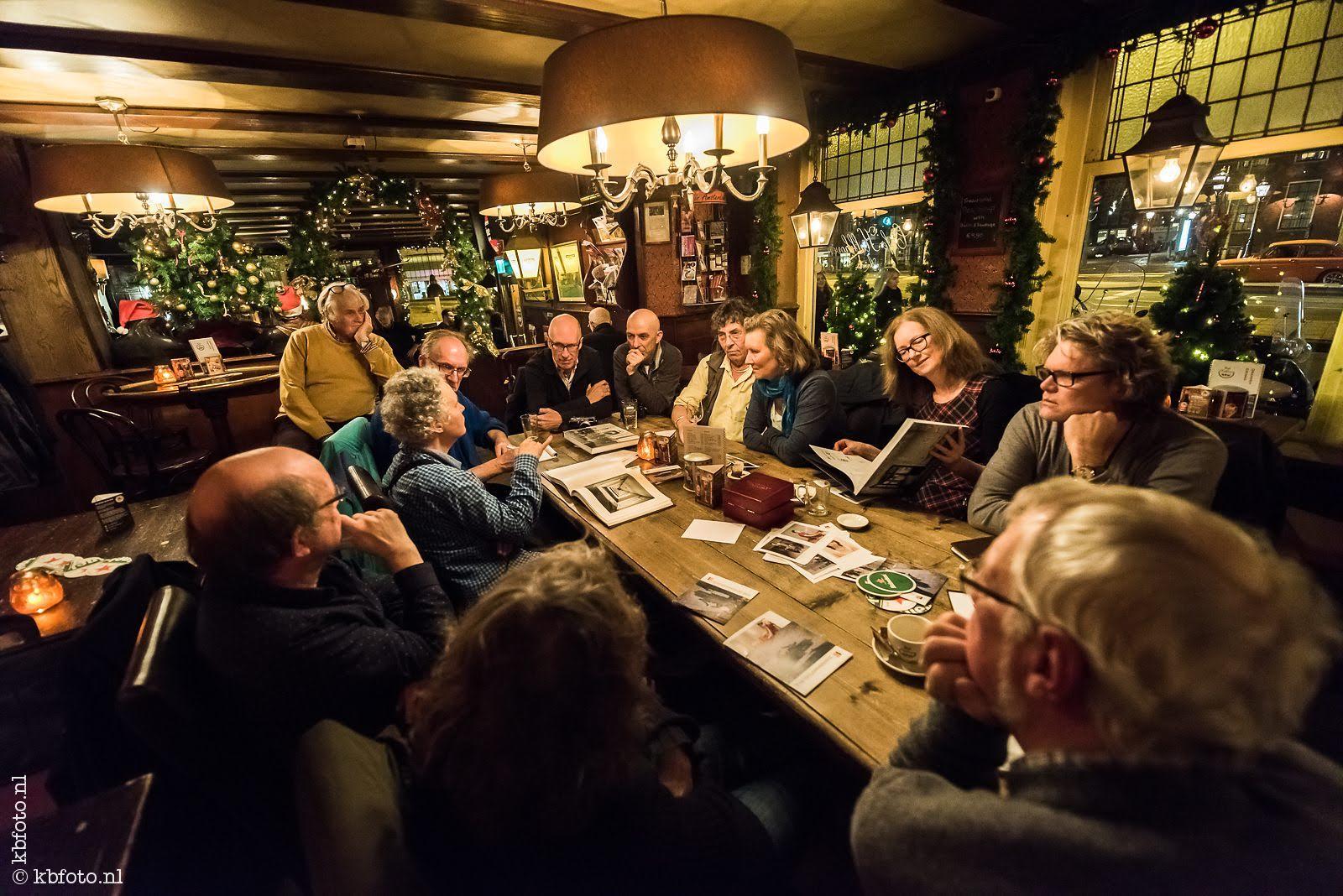 fotografenavond in Café Kalkhoven