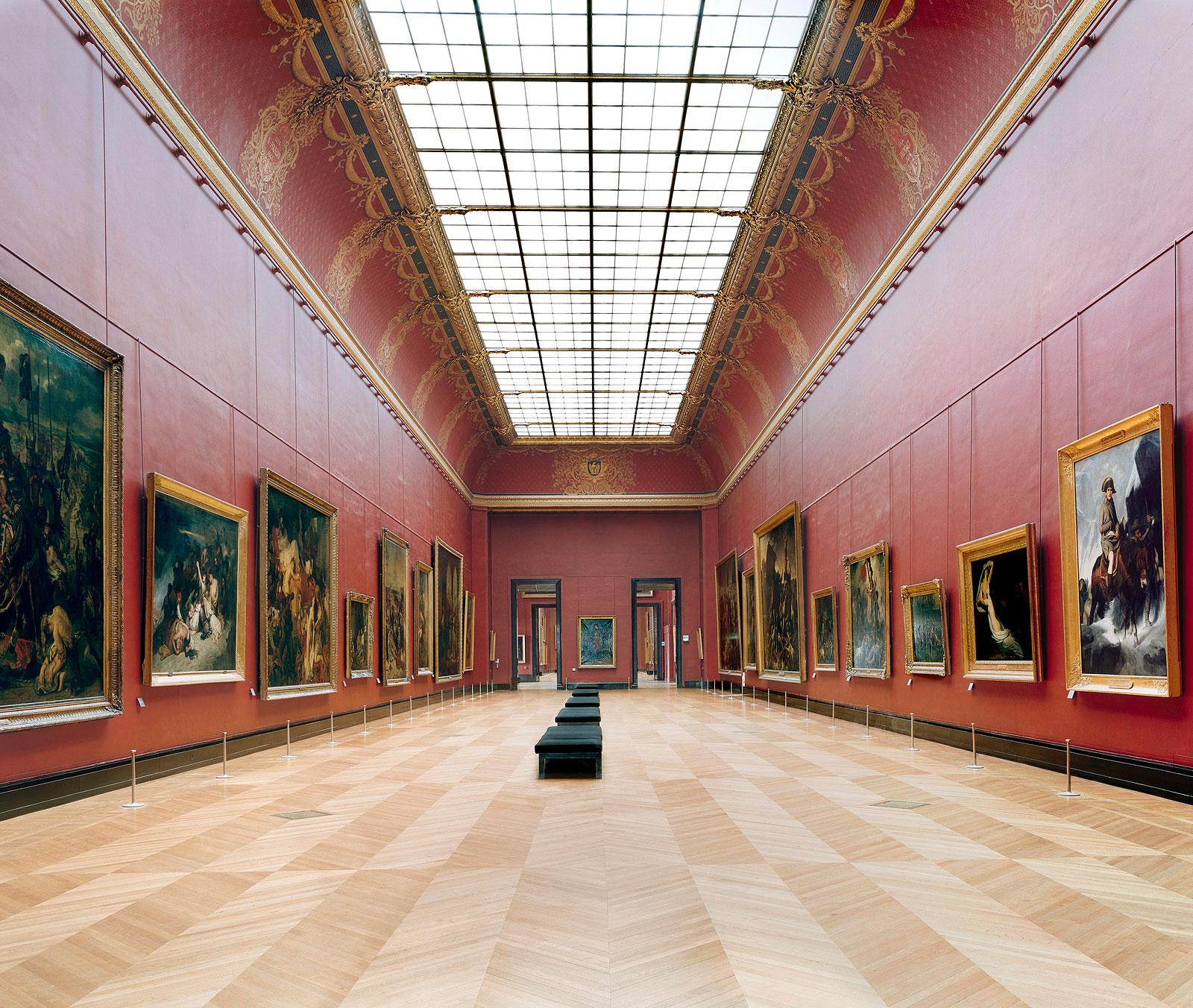 © Candida Höfer, VG Bild-Kunst, Bonn -Musée du Louvre Paris XXI 2005