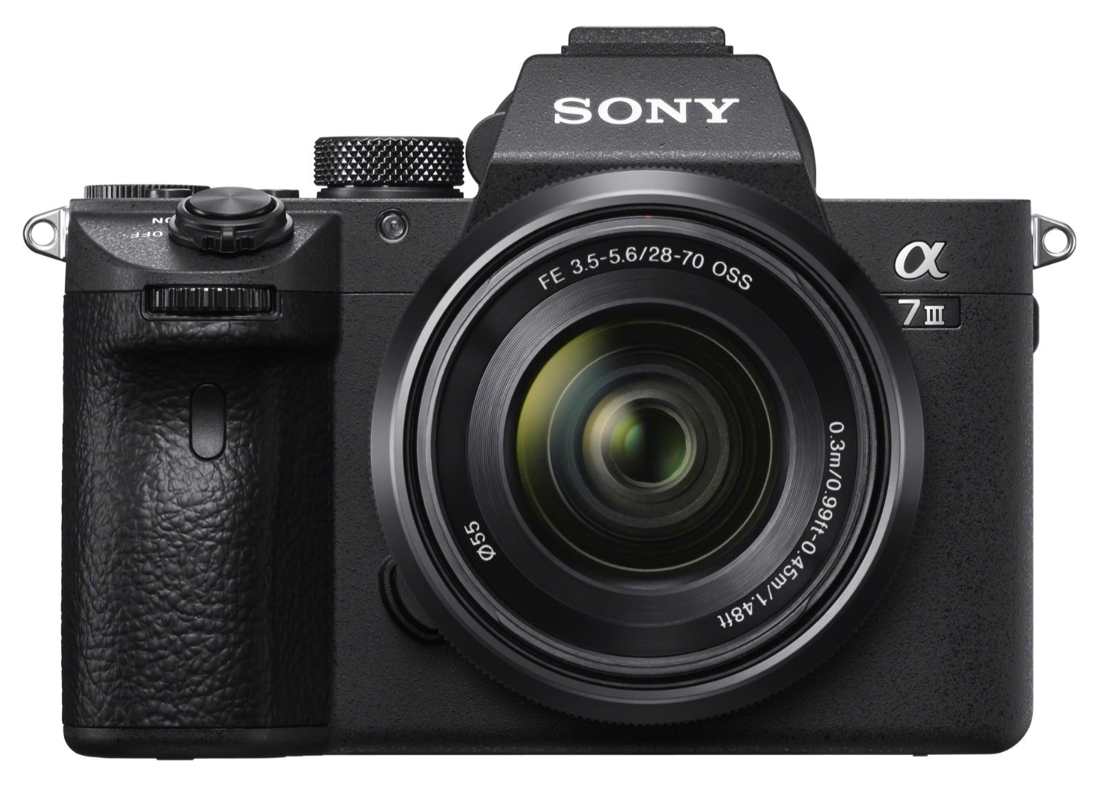 Sony full-frame A7 III