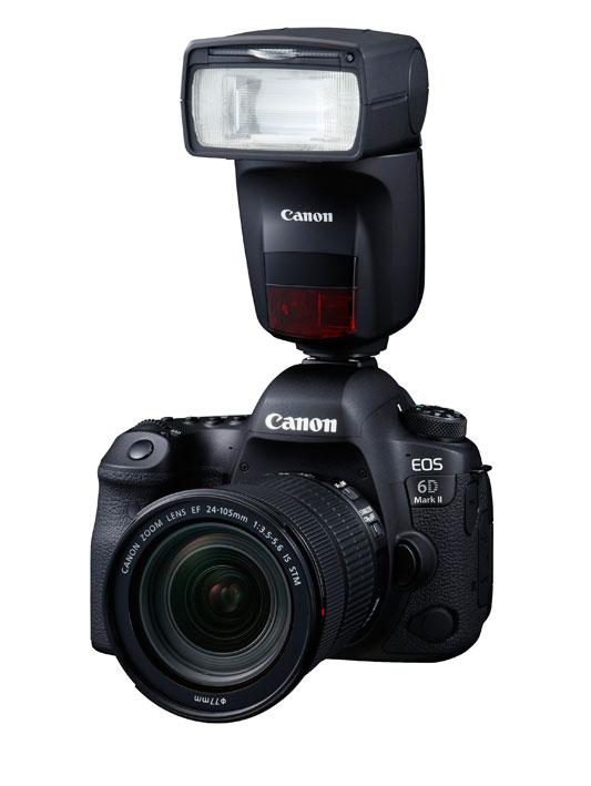 Canon Speedlite 470EX-AI flitser en EOS M50 systeemcamera