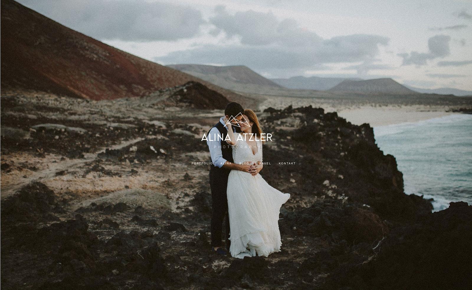 foto homepage website alina atzler