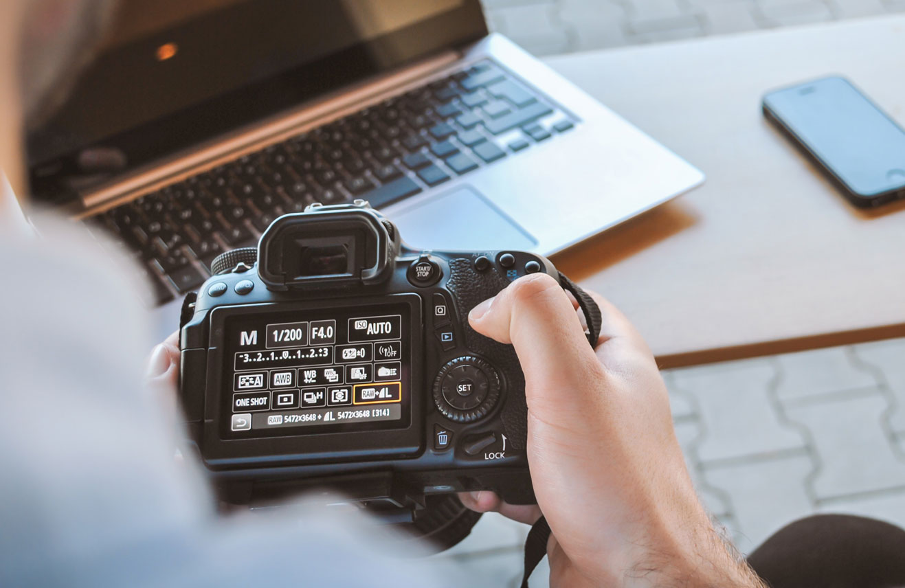 camera bij laptop