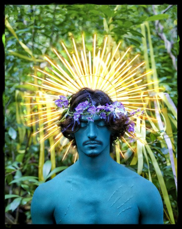foto: © David LaChapelle - Behold, 2016, Hand Painted negative