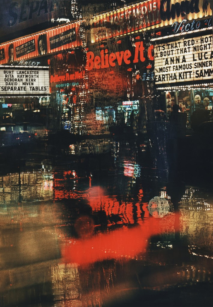 ‍© Marvin Newman, Broadway, Believe It, 1958  | Courtesy of Howard Greenberg Gallery