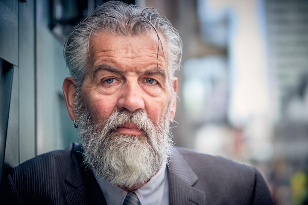 foto: ©Ferry Knijn - portret man met baard