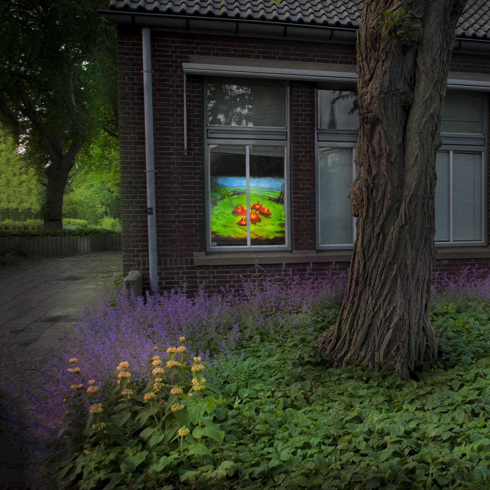 foto: ©Jan van der Horn - Lichtbak Gemeentehuis Voorschoten