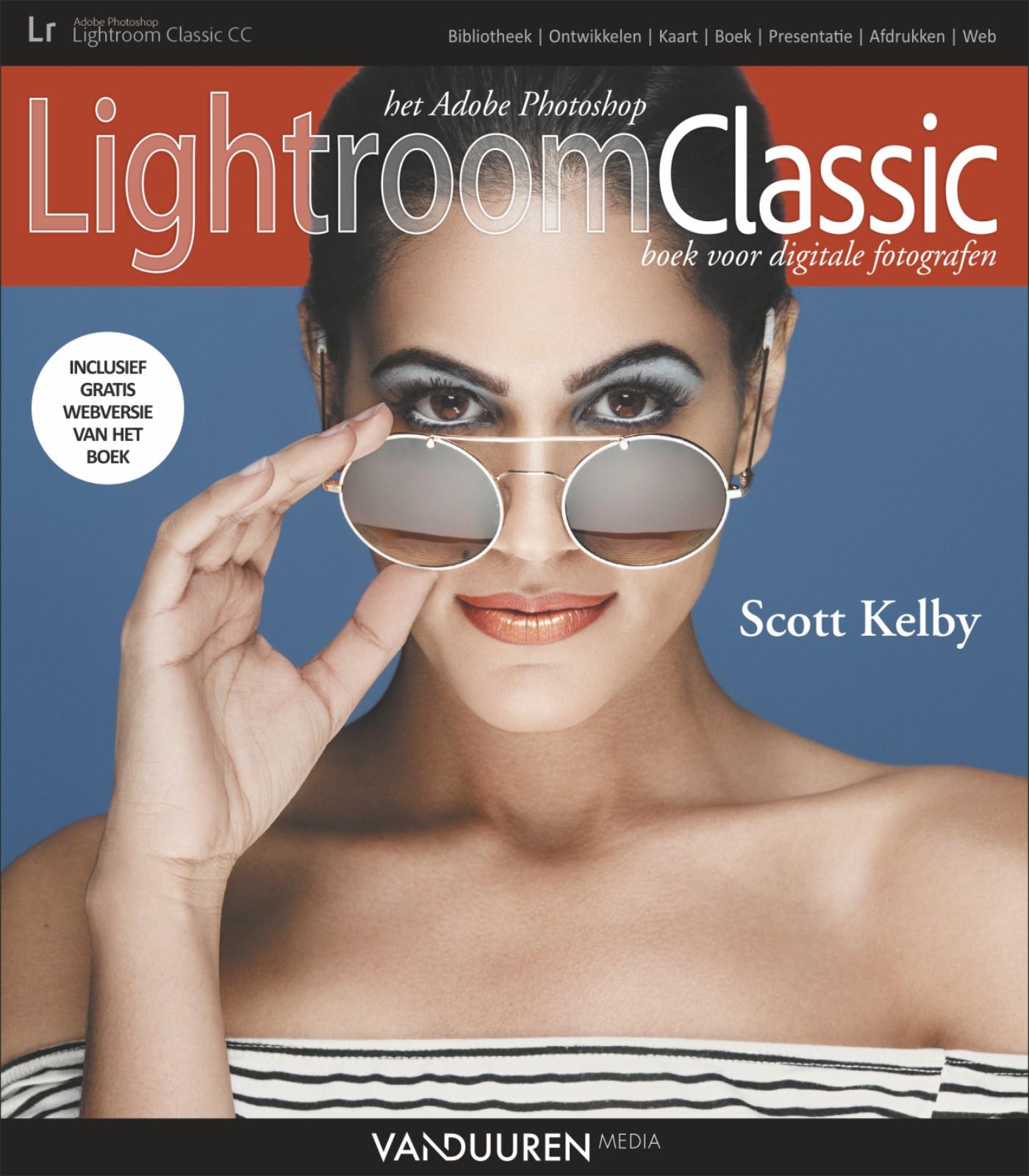 coverfoto van fotoboek Het Adobe Photoshop Lightroom Classic boek voor digitale fotografen