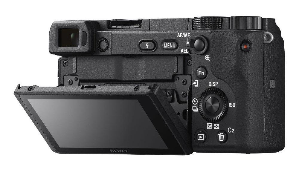 foto van Sony Alpha A6400 achterkant