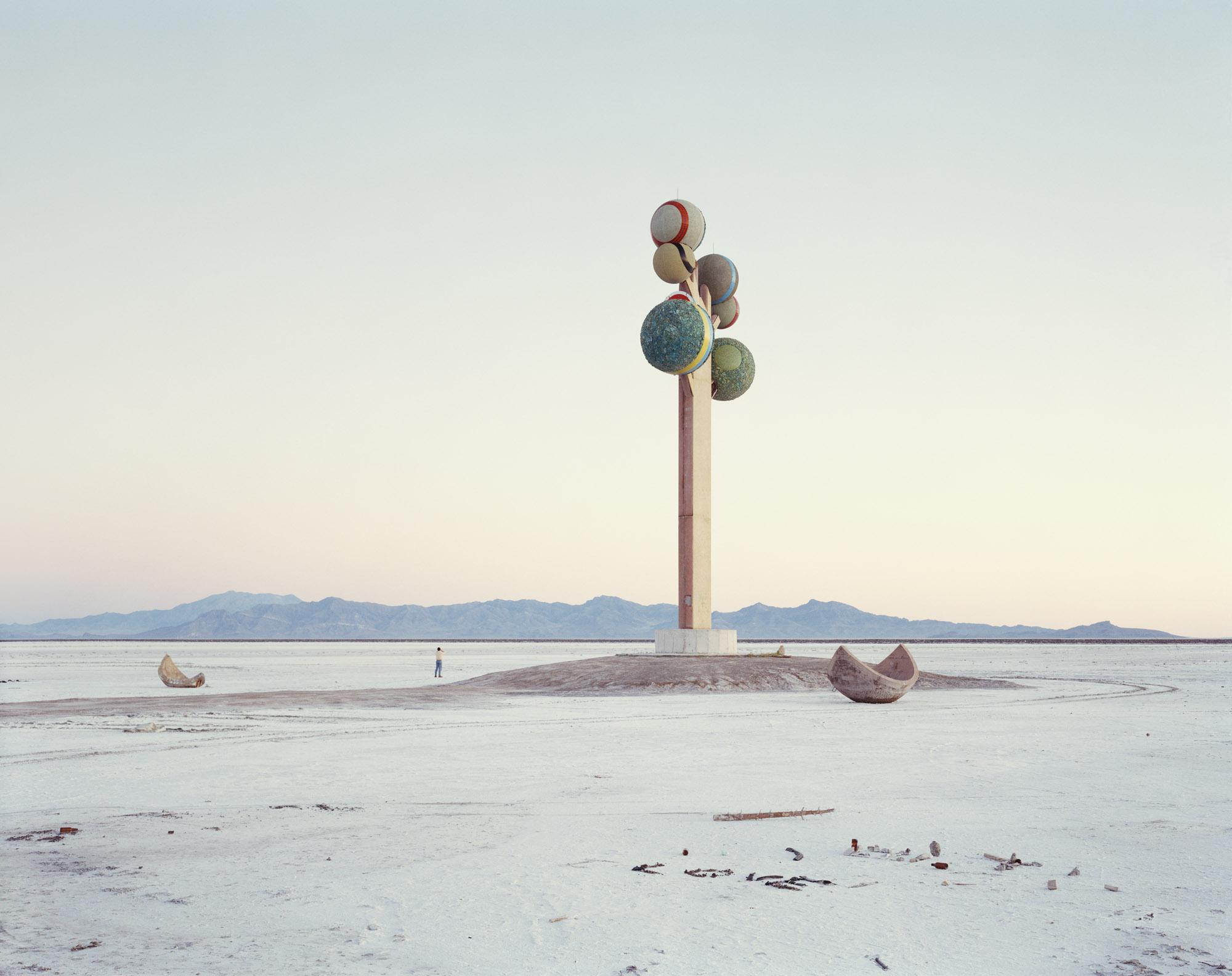 foto van het monumnent van Utah door Nadav Kander