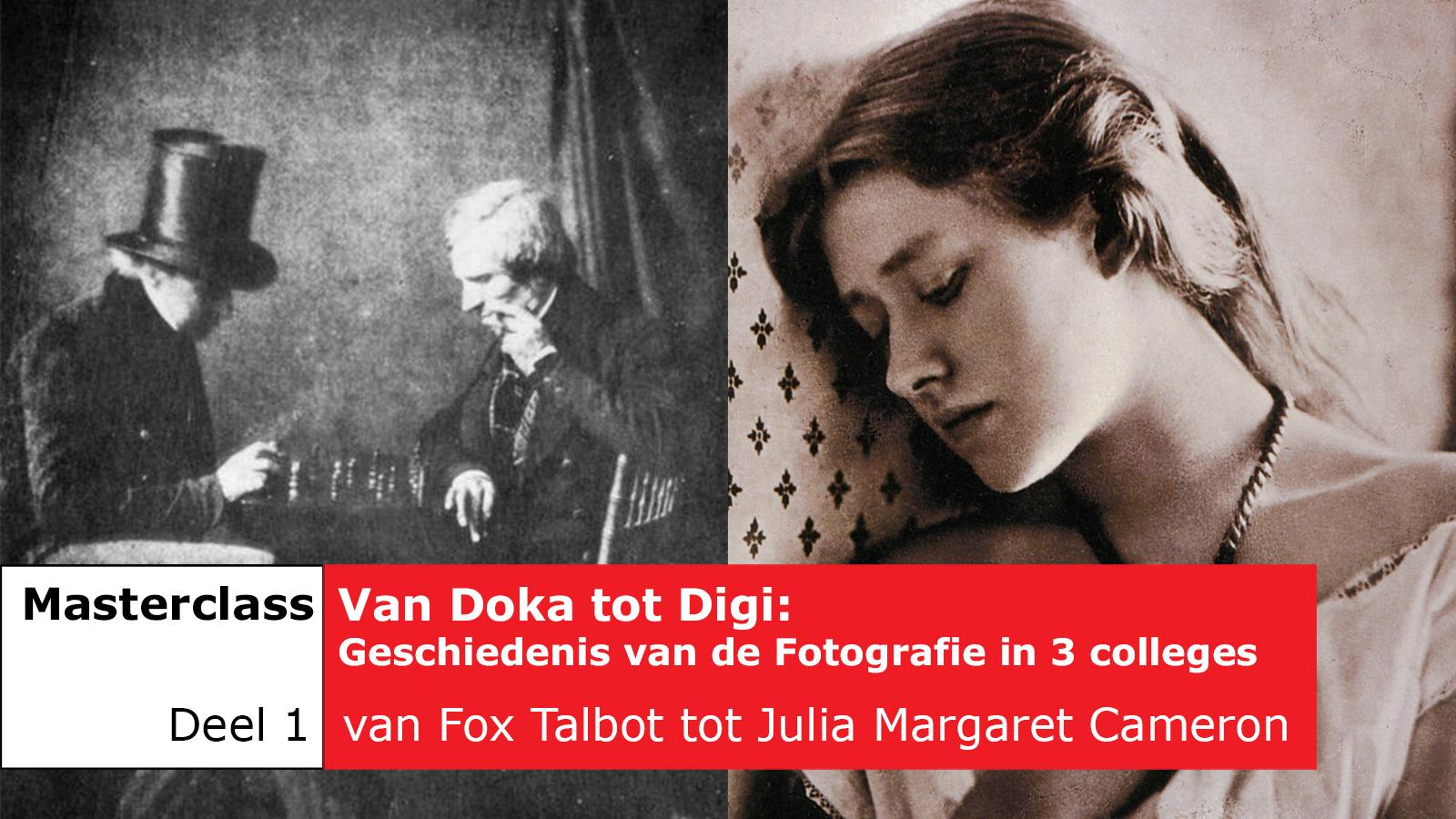 flyerfoto voor Masterclass fotografie bij Photo020