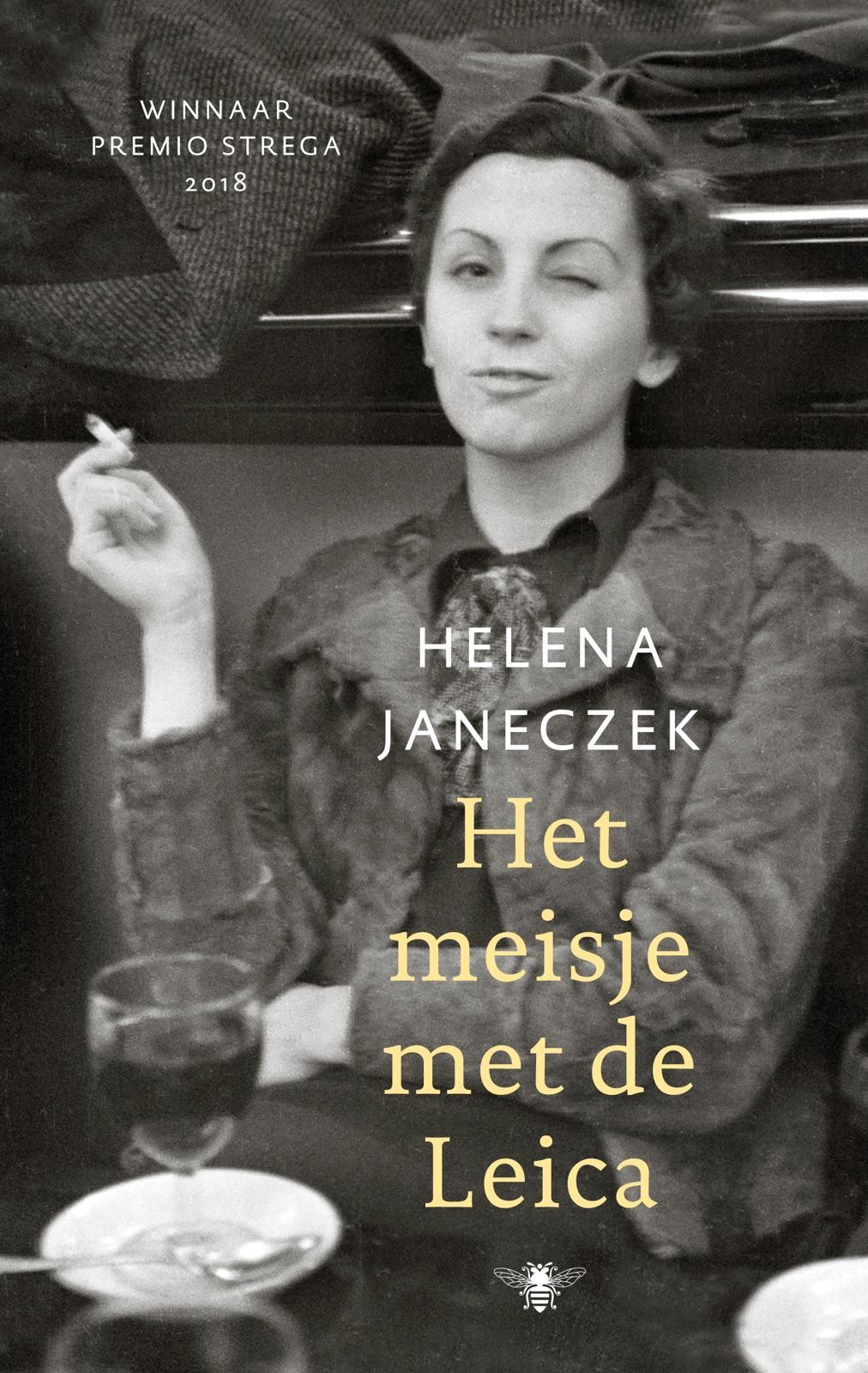 coverfoto van het boek Het meisje met de Leica van Helena Janeczek