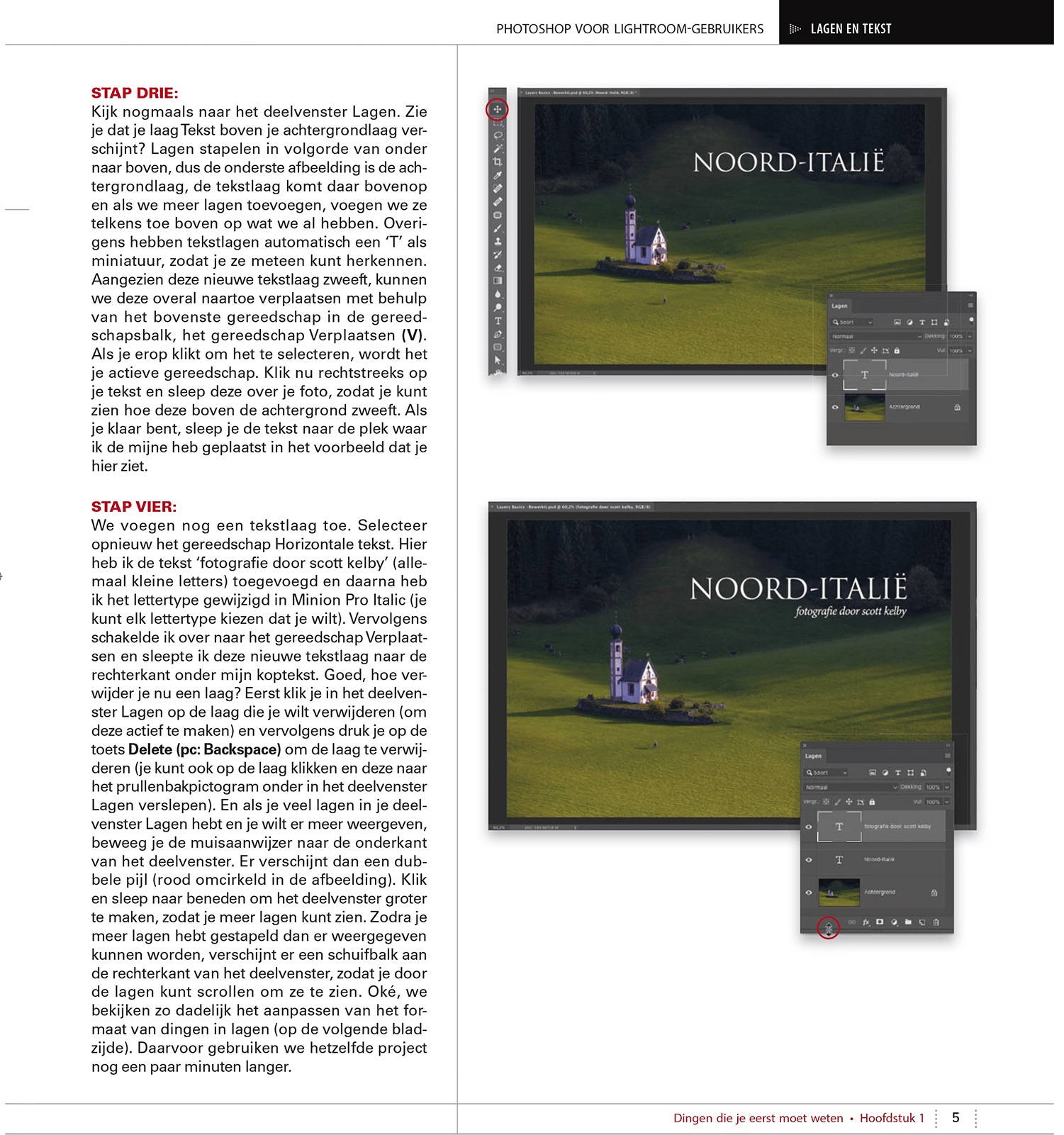 foto uit binnenwerk van het boek Photoshop voor Lightroom-gebruikers van Scott Kelby