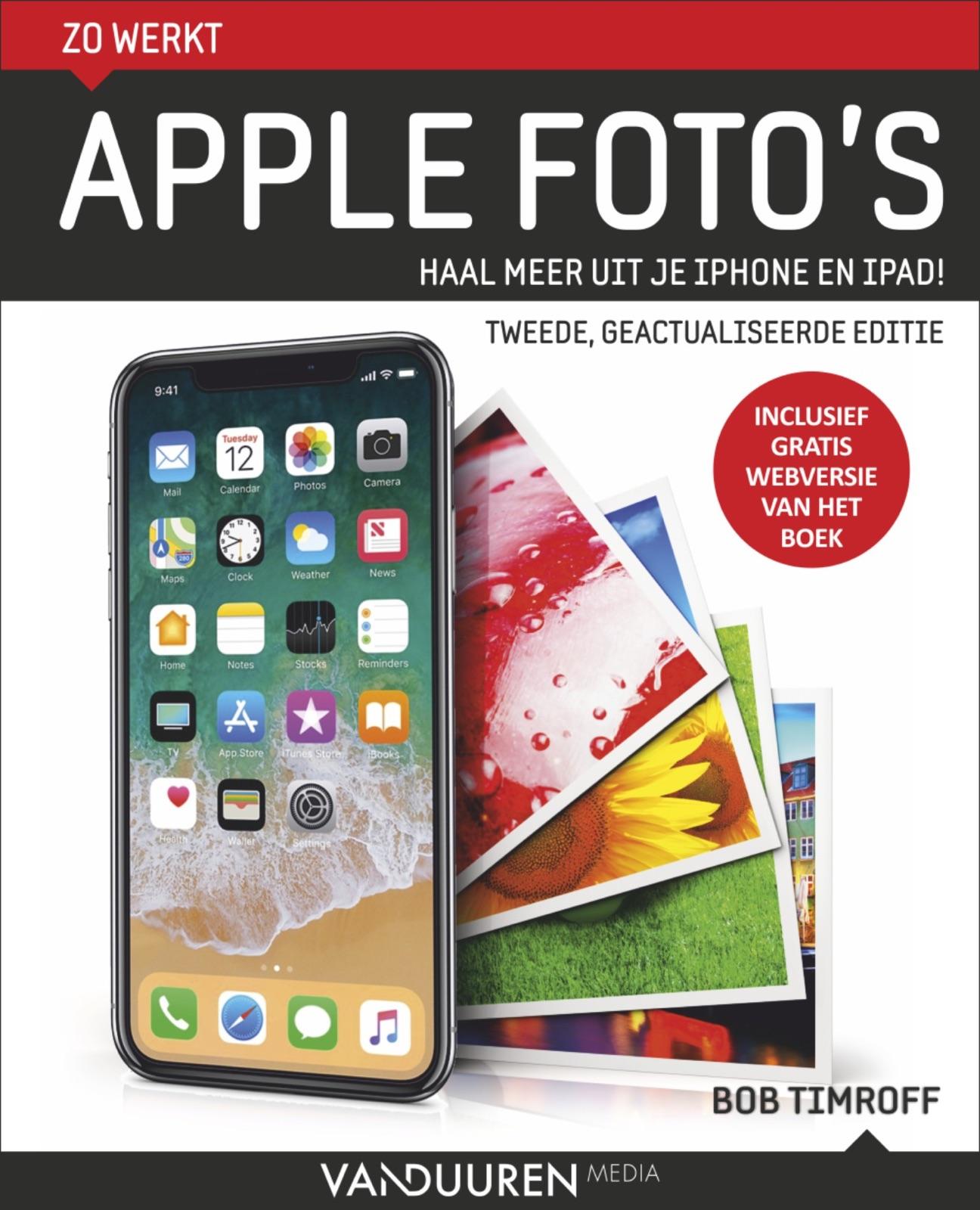 omslagfoto van het boek Zo werkt Apple Foto's van Bob Timroff