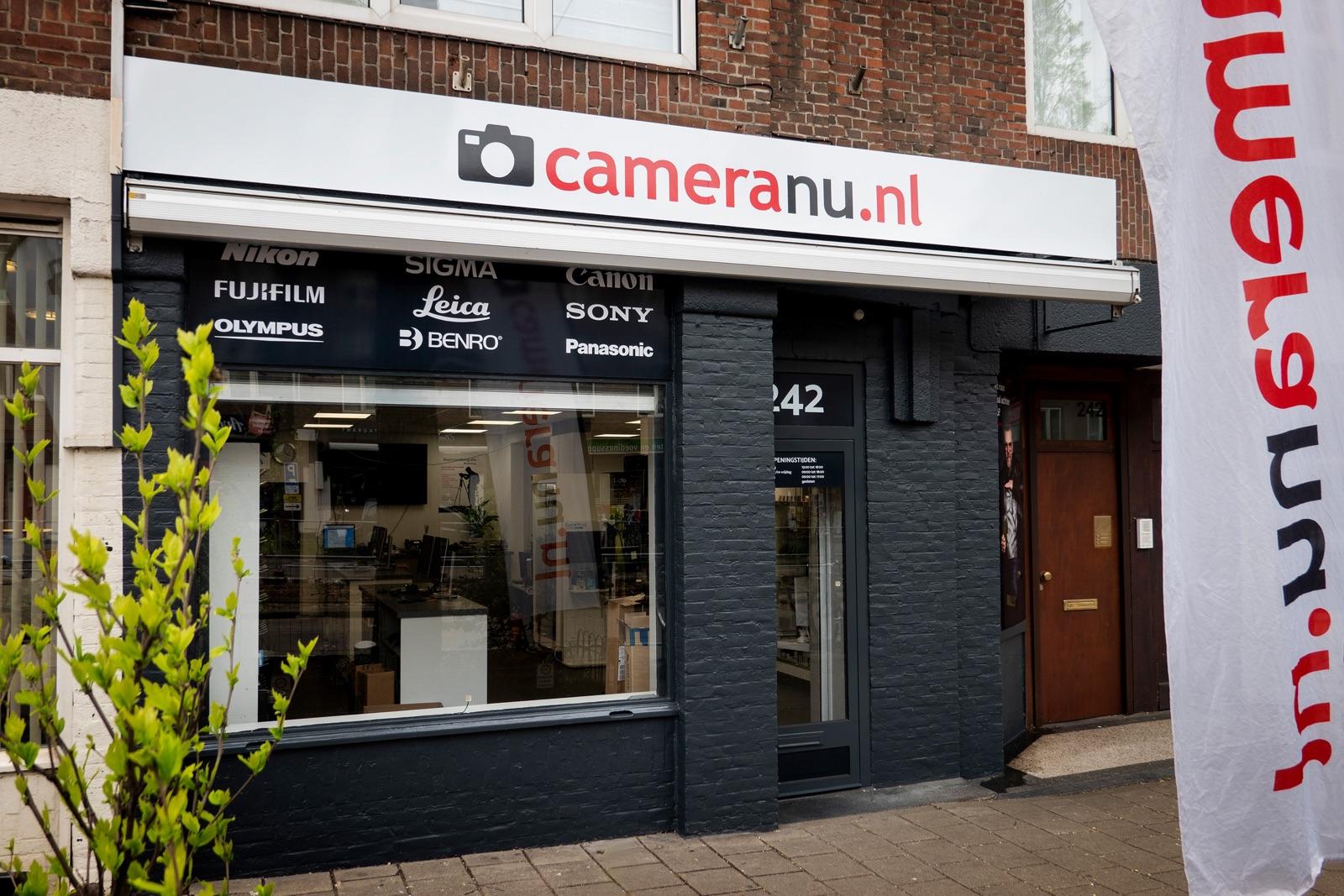 foto van nieuwe winkel van CameraNU.nl in Amsterdam