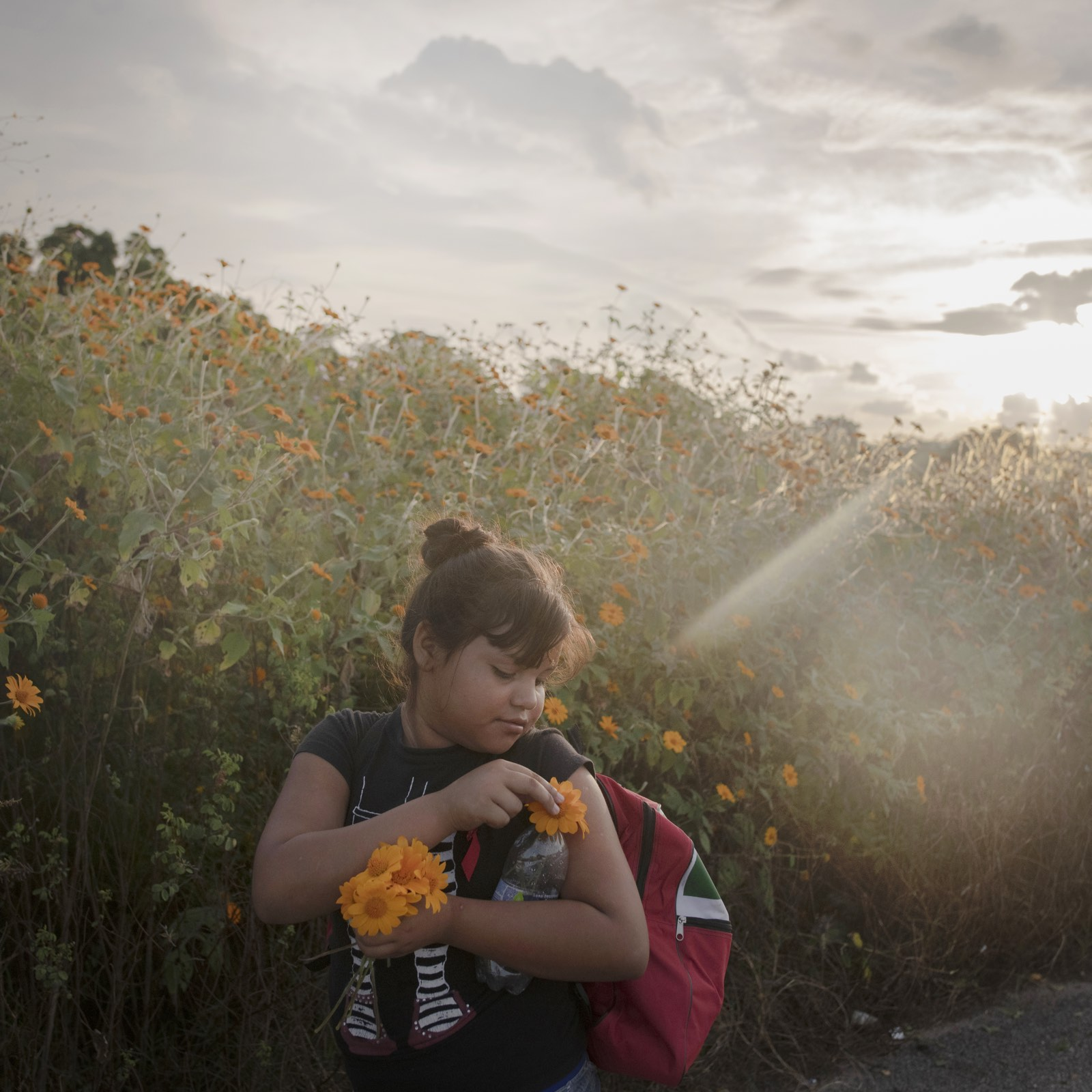 foto: © Pieter Ten Hoopen Agence Vu/Civilian Ac - The Migrant Caravan