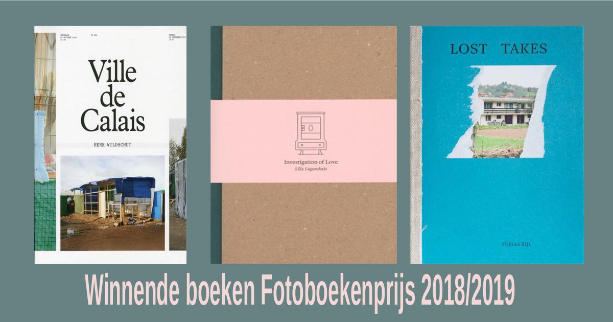 winnende boeken Fotoboekenprijs 2019