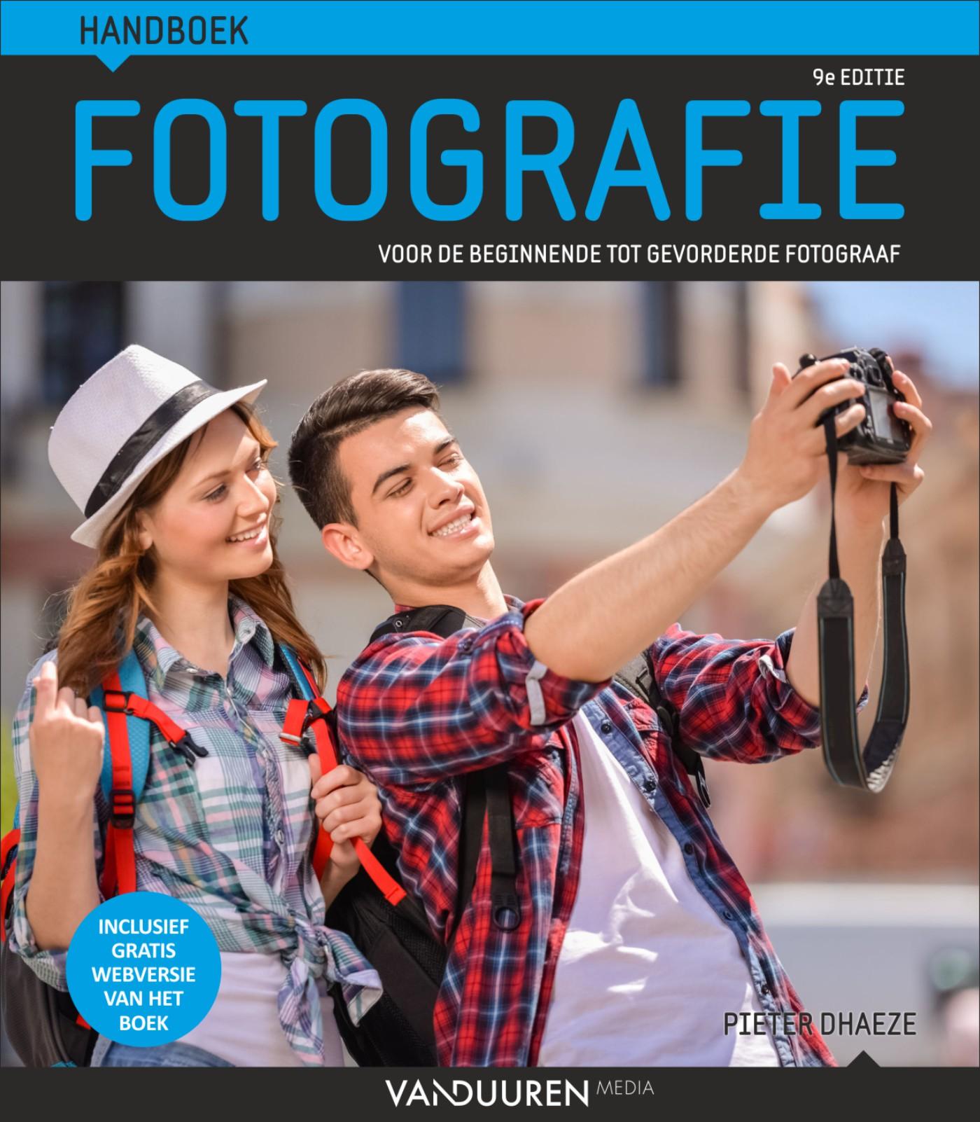 Handboek fotografie- Pieter Dhaeze, 9e editie, isbn 9789463560504