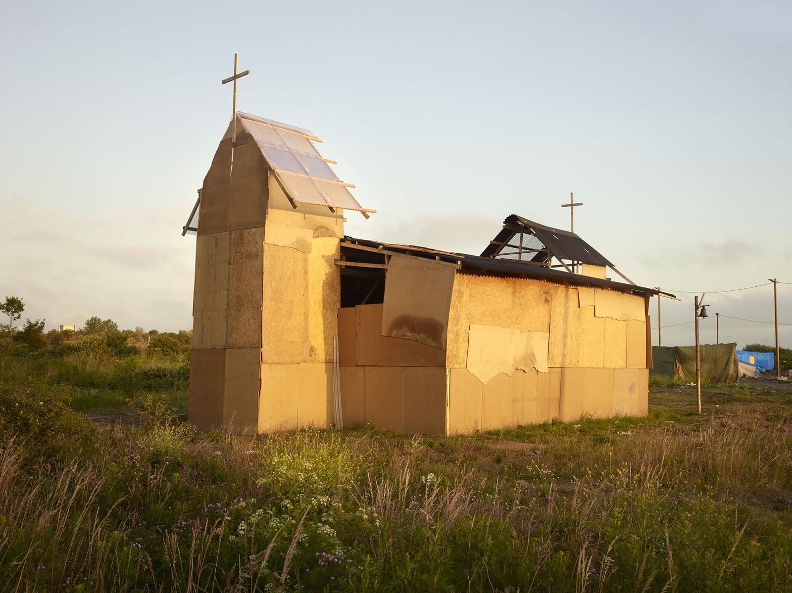 Henk Wildschut kerk Ville de Calais