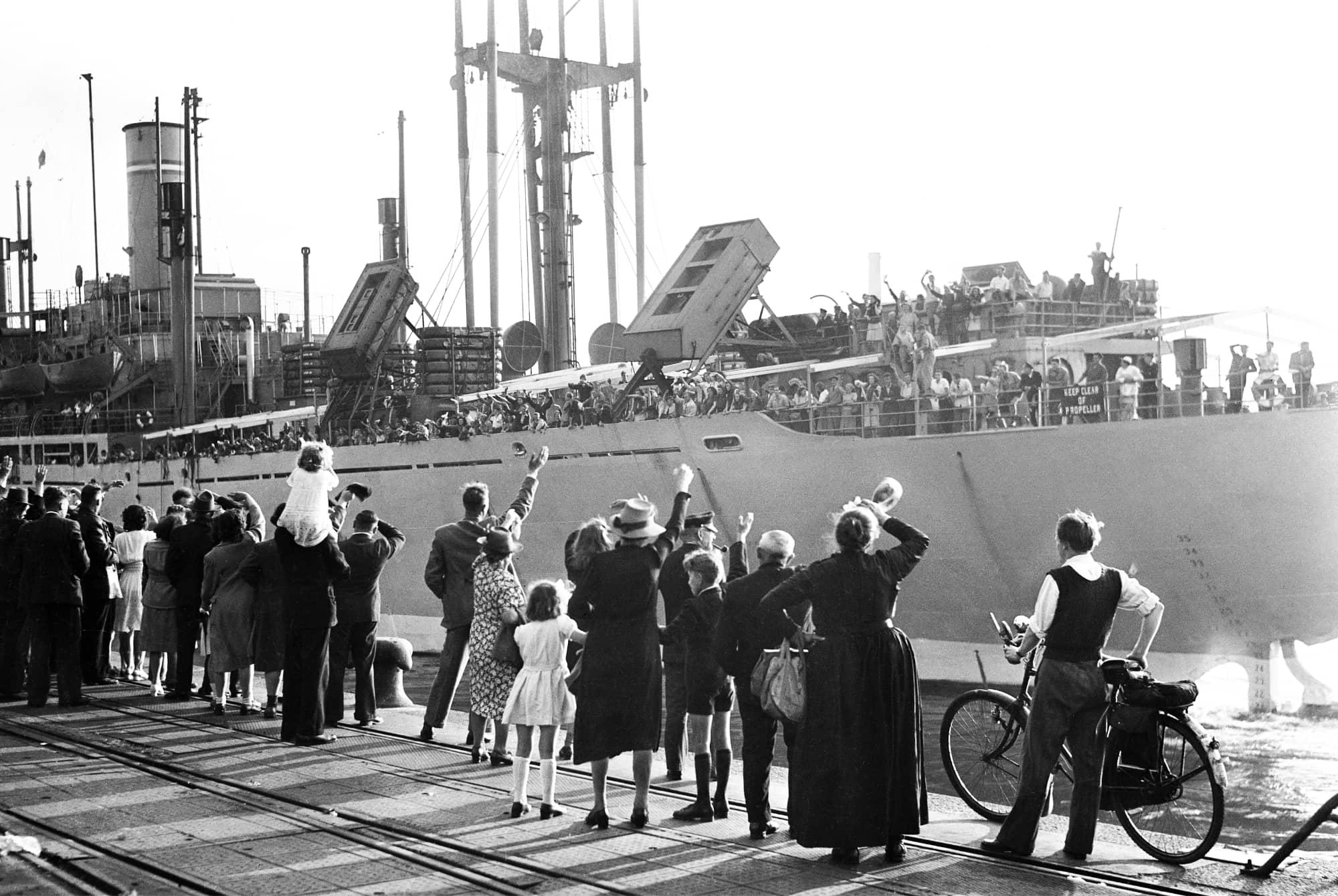Foto © Daniël van de Ven, Rotterdam haven 1926