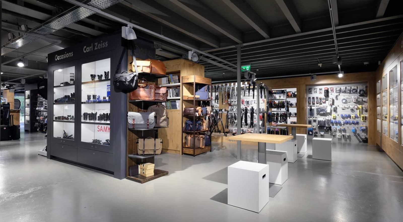 interieur CameraTools winkel in Apeldoorn