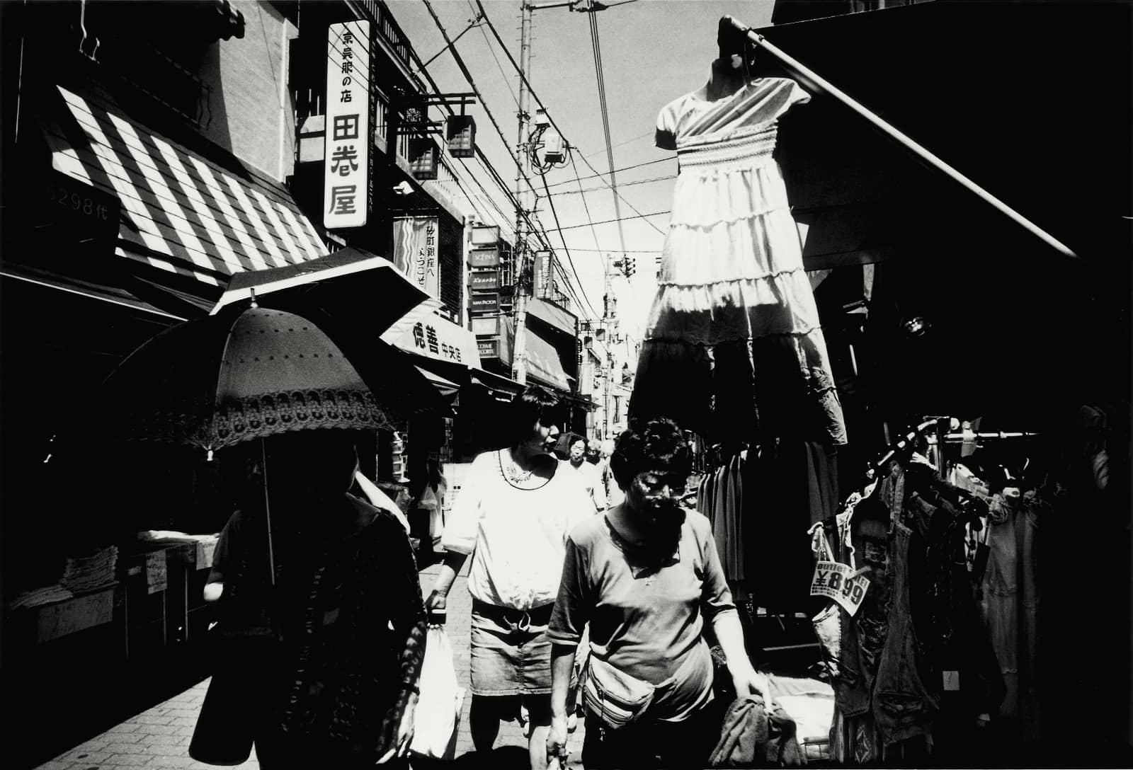 © Daido Moriyama - winkelstraat