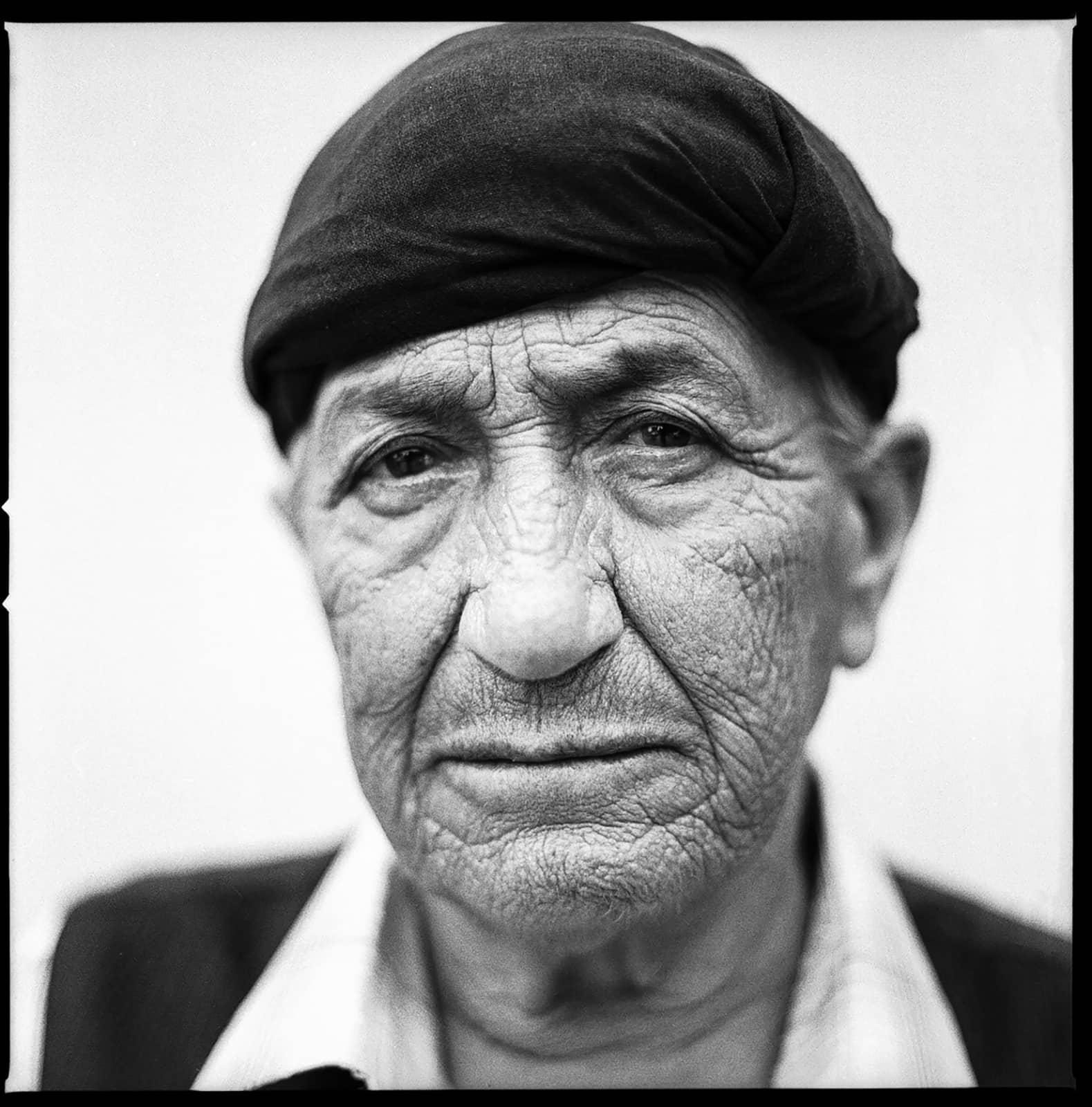 foto: © Leander Varekamp - portret oude man