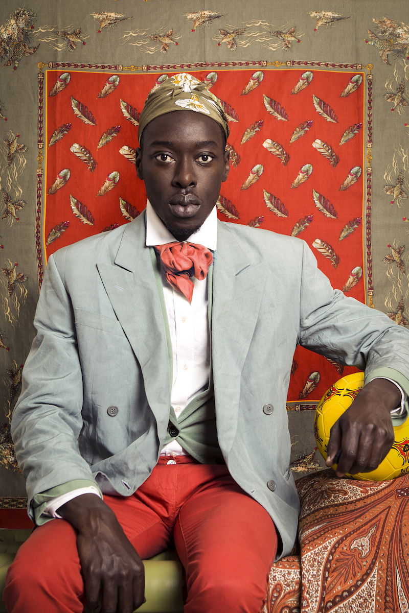 foto: © Omar Victor Diop , Courtesy Galerie MAGNIN-A - Omar Ibn Said,  Série Diaspora, 2015