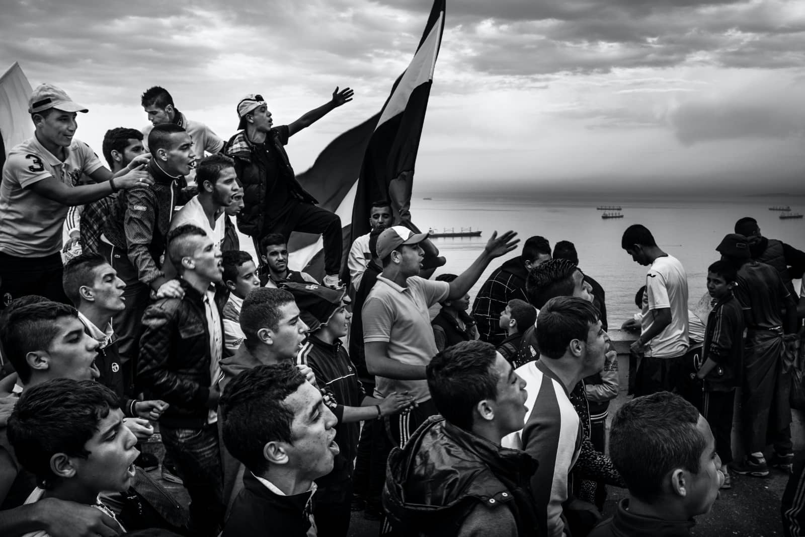 foto: Romain Laurendeau, winnaar World Press Photo Story of the Year - Kho, the Genesis of a Revolt