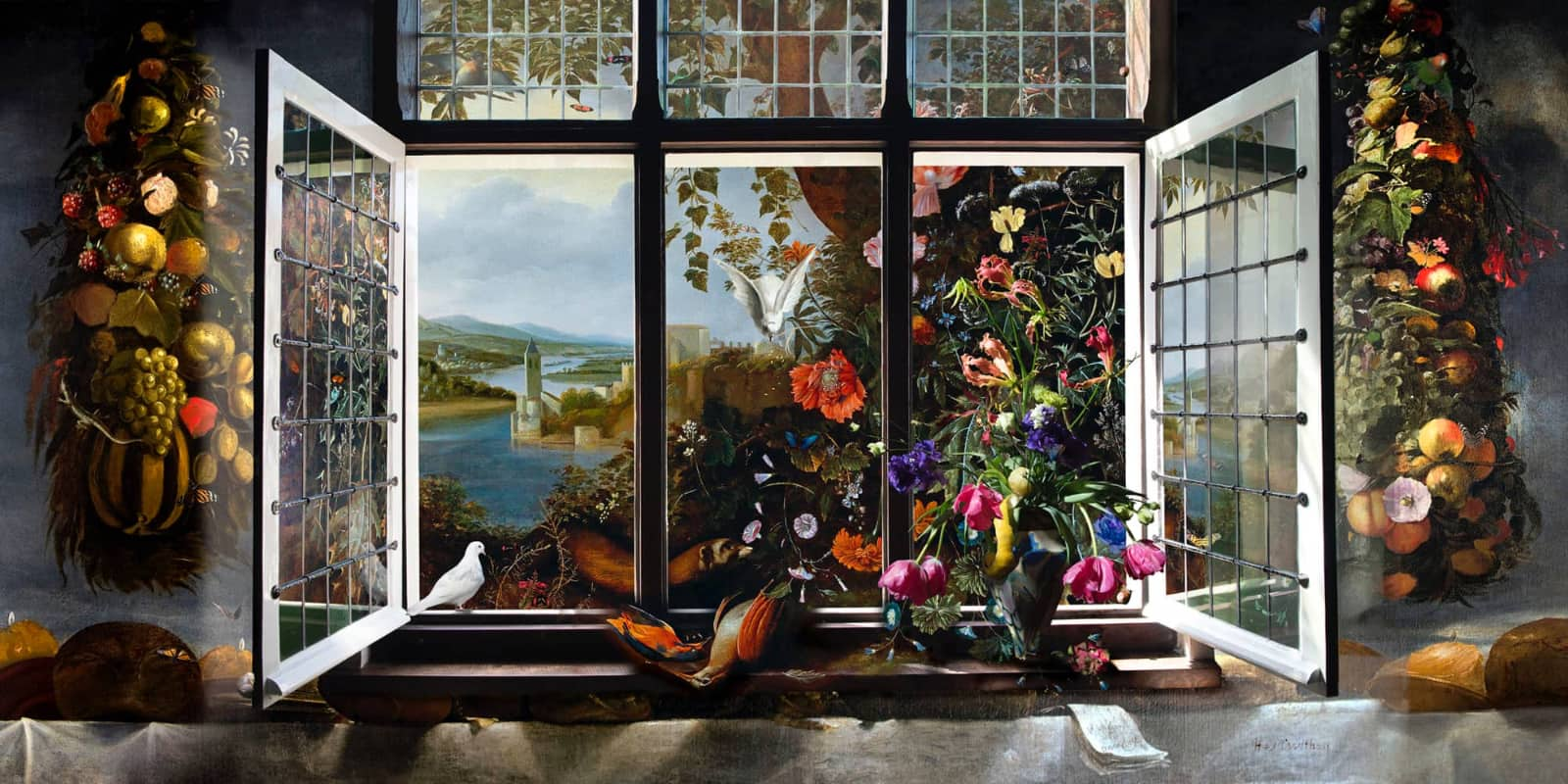 foto: © Hans Withoos - Window to Paradise, 2019 (Withoos meets Withoos)