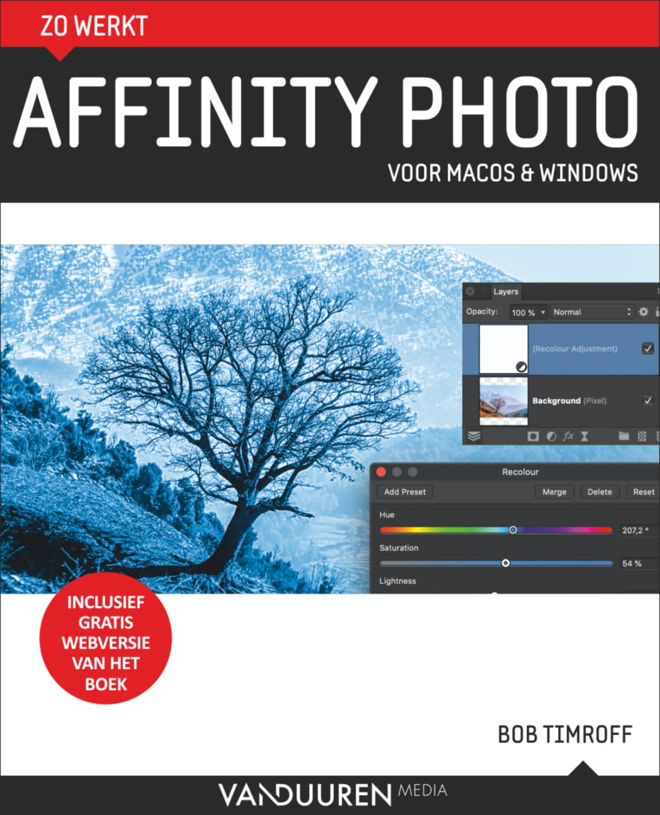 Zo werkt Affinity Photo Voor macOS & Windows - Bob Timroff, isbn 9789463561341